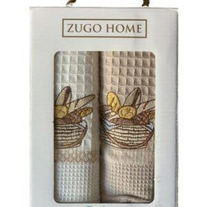 купить Набор кухонных полотенец Zugo Home Bread V1 40*60 2 шт  фото