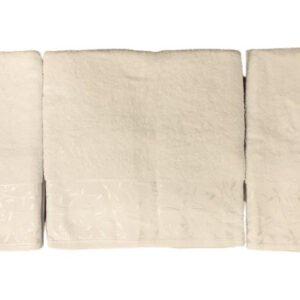 купить Набор махровых полотенец Gold Soft Life For You 50*90(2 шт) и 70*140 Крем Кремовый фото