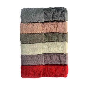 купить Набор махровых полотенец Miss Cotton хлопок Domino 6 шт  фото