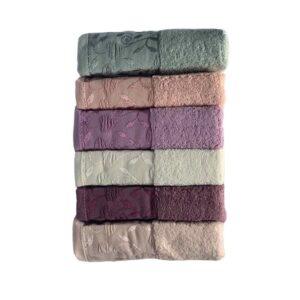 купить Набор махровых полотенец Miss Cotton хлопок For You 6 шт  фото