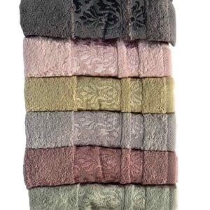 купить Набор махровых полотенец Miss Cotton хлопок Lale 50*90 6 шт  фото