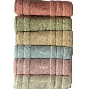 купить Набор махровых полотенец Miss Cotton хлопок Life Time 6 шт  фото