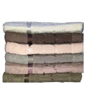 купить Набор махровых полотенец Miss Cotton хлопок Manolya 70*140 6 шт  фото