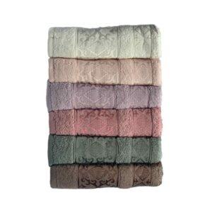 купить Набор махровых полотенец Miss Cotton хлопок Pirizma 6 шт  фото