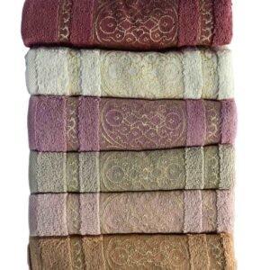 купить Набор махровых полотенец Miss Cotton хлопок Sirma 50*90 6 шт  фото