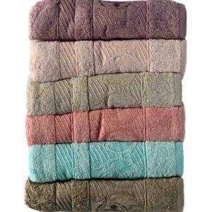 купить Набор махровых полотенец Miss Cotton Bamboo Celena 6 шт  фото