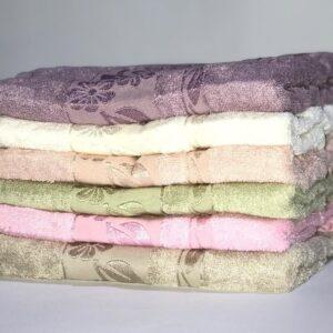 купить Набор махровых полотенец Miss Cotton Bamboo Flowers 50*90 6 шт  фото