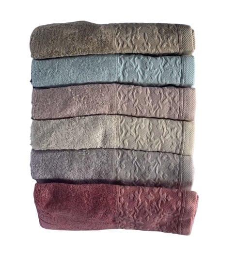 купить Набор махровых полотенец Miss Cotton Bamboo Nazende 6 шт  фото