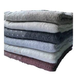 купить Набор махровых полотенец Miss Cotton Bamboo Pirlanta 50*90 6 шт  фото
