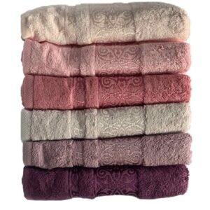 купить Набор махровых полотенец Miss Cotton Bamboo Sarmasik 70*140 6 шт  фото