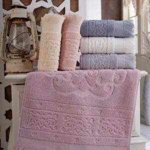 купить Набор махровых полотенец Sikel жаккард Artemiz 6 шт  фото