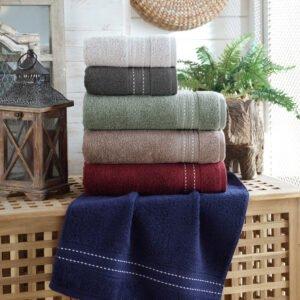 купить Набор махровых полотенец Sikel жаккард Beymen 6 шт  фото