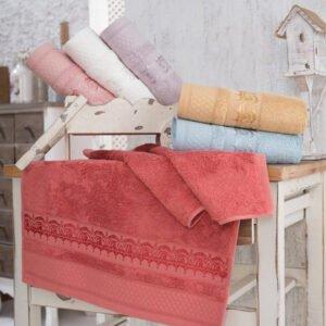 купить Набор махровых полотенец Sikel Bamboo Azuz 30*50 6 шт  фото