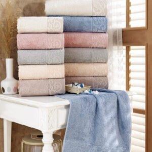 купить Набор махровых полотенец Sikel Bamboo Sonil 30*50 6 шт  фото