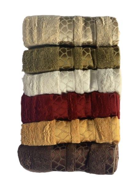 купить Набор махровых полотенец Sikel Bamboo Tasli Soft 6 шт  фото