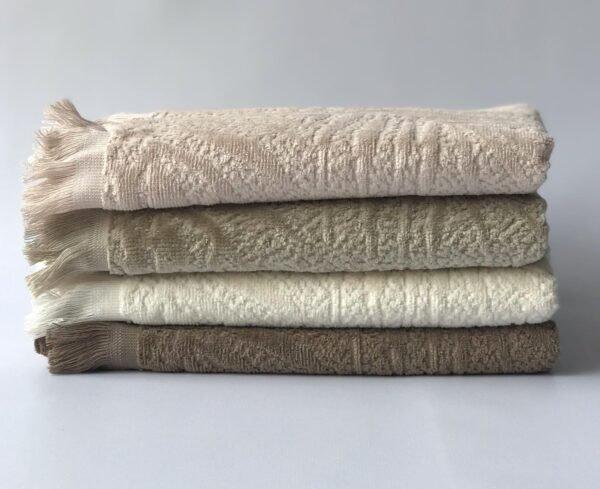 купить Набор махровых полотенец Sikel Cotton велюр Amazon V01 4 шт  фото