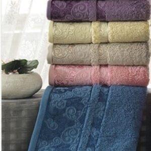 купить Набор махровых полотенец Sikel Cotton Hazal 50*90 6 шт  фото