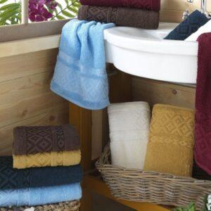 купить Набор махровых полотенец Sikel Cotton Prizma 50*90 6 шт  фото