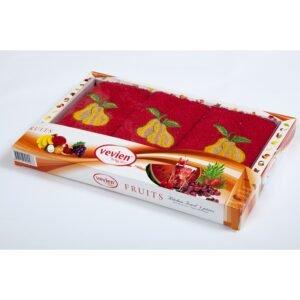 купить Набор махровых полотенец Vevien - Pear Красный фото