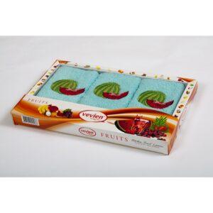 купить Набор махровых полотенец Vevien - Watermelon Ментоловый фото