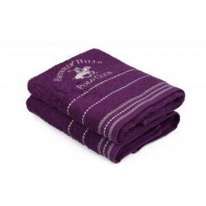 купить Набор полотенец Beverly Hills Polo Club - 355BHP1255 Fitili Purple Фиолетовый фото
