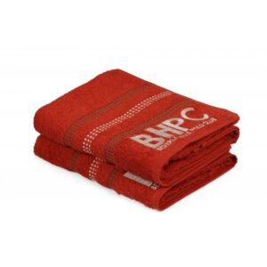 купить Набор полотенец Beverly Hills Polo Club - 355BHP1450 Botanik Brick Red Красный фото