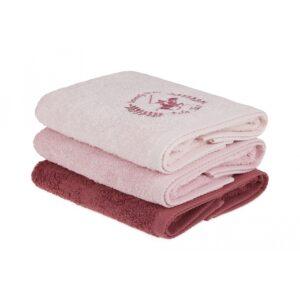 купить Набор полотенец Beverly Hills Polo Club - 355BHP2263 Розовый фото