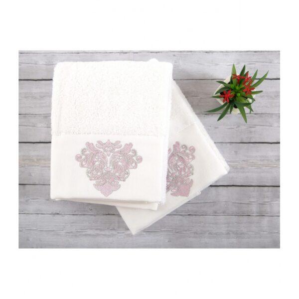 купить Набор полотенец Irya - Adore white 2 шт Белый фото
