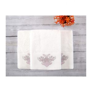 купить Набор полотенец Irya - Adore white 3 шт Белый фото