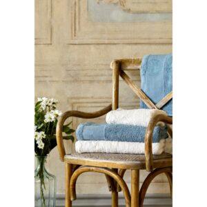 купить Набор полотенец Karaca Home - Trella krem-mavi 2020-1 Кремово-Синий фото