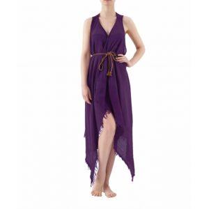 купить Пляжная туника Buldans - Carmen purple Фиолетовый фото