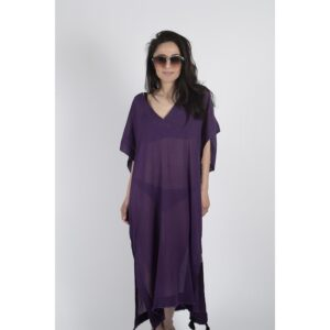купить Пляжная туника Buldans - Talia purple Фиолетовый фото
