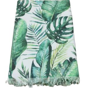 купить Пляжное полотенце Catherne Malandrino Pestemal Asorti 100*180 Зеленый фото