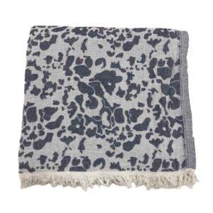 купить Пляжное полотенце Gold Soft Life pestemal Milos 100*180 Серый Серый фото