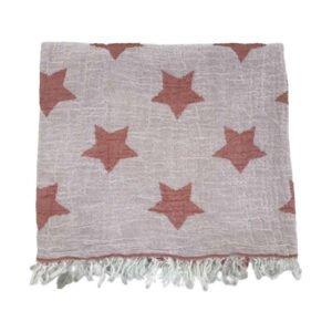 купить Пляжное полотенце Gold Soft Life pestemal Star 100*180 Розовый Розовый фото