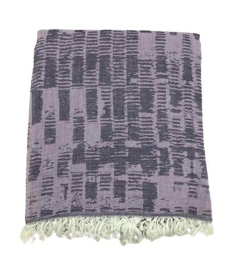 купить Пляжное полотенце Gold Soft Life pestemal Virtu 100*180 Фиолетовый Фиолетовый фото