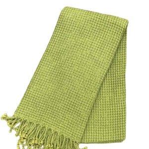 купить Пляжное полотенце Vende Pastemal вафельный Soft Life 100*180 Зеленый Зеленый фото