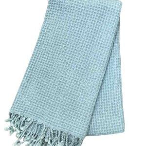 купить Пляжное полотенце Vende Pastemal вафельный Soft Life 100*180 Ментоловый_x000D_ Ментоловый_x000D_ фото