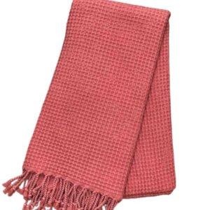 купить Пляжное полотенце Vende Pastemal вафельный Soft Life 100*180 Розовый Розовый фото
