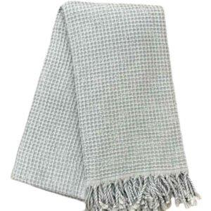 купить Пляжное полотенце Vende Pastemal вафельный Soft Life 100*180 Серый Серый фото