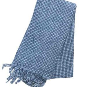 купить Пляжное полотенце Vende Pastemal вафельный Soft Life 100*180 джинс Синий Синий фото