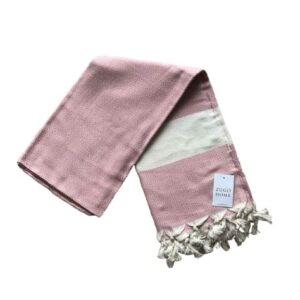 купить Пляжное полотенце Zugo Home Pestemal Elmas 100*180 Розовый Розовый фото