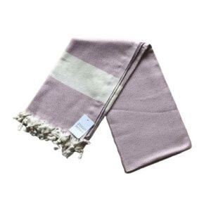 купить Пляжное полотенце Zugo Home Pestemal Elmas 100*180 Сиреневый Сиреневый фото