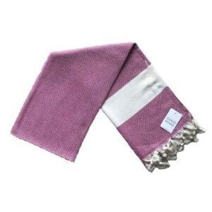 купить Пляжное полотенце Zugo Home Pestemal Elmas 100*180 pink Розовый фото