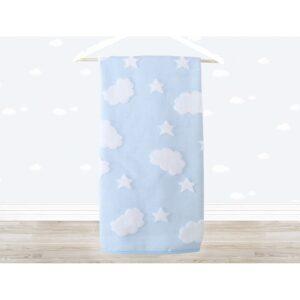 купить Полотенце детское Irya - Cloud голубой Голубой фото