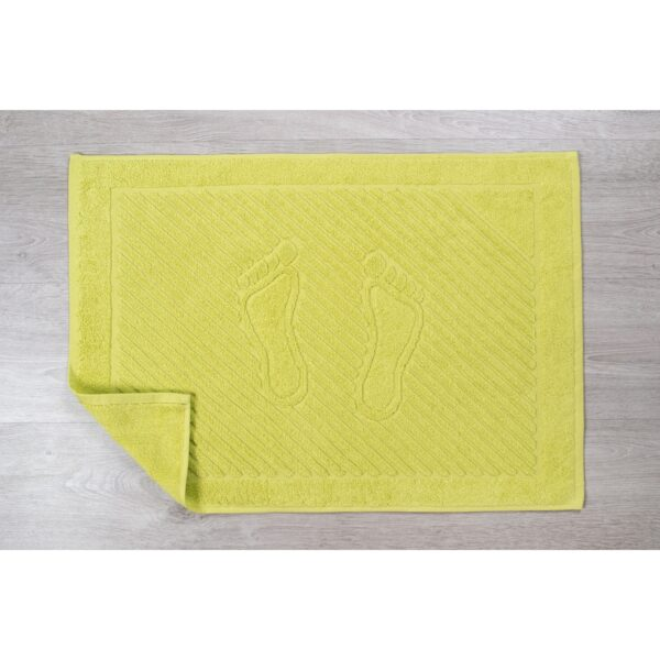купить Полотенце для ног Iris Home - Бордюр apfelgrun Желтый фото