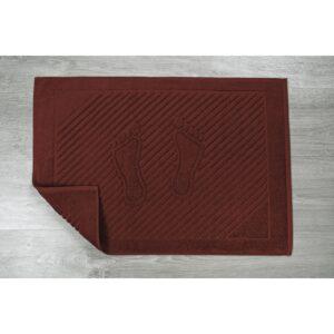 купить Полотенце для ног Iris Home - Бордюр ruby wine Красный фото