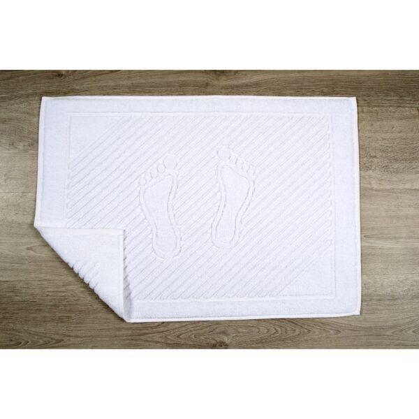 купить Полотенце для ног Iris Home Отель Белый фото