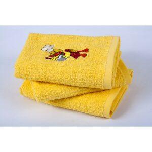 купить Полотенце кухонное Lotus вышивка - Duck Желтый фото