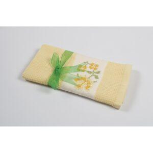 купить Полотенце кухонное Lotus Life - Желтый Желтый фото